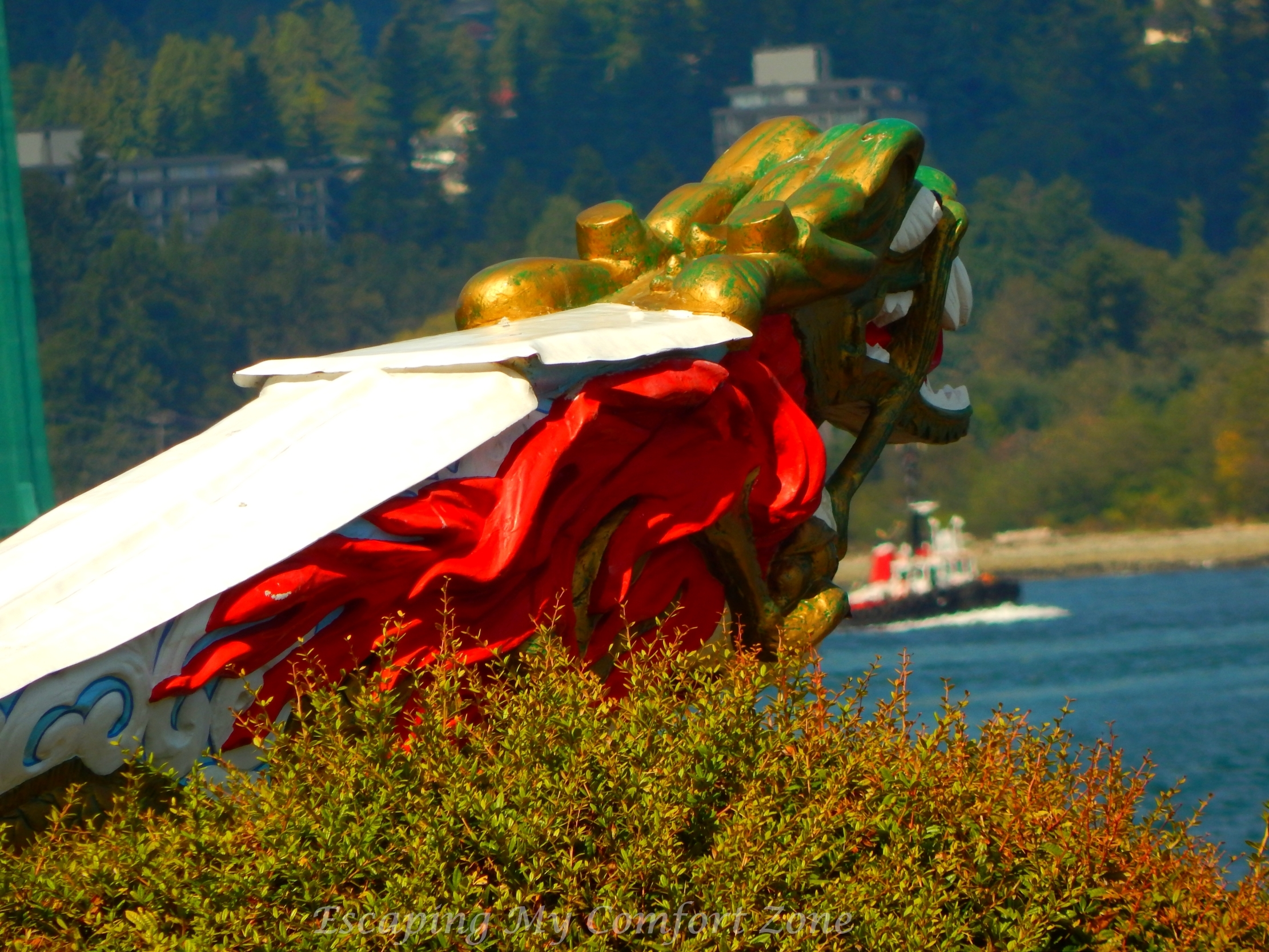 Figurehead of the RMS Empress of Japan, Stanley Park