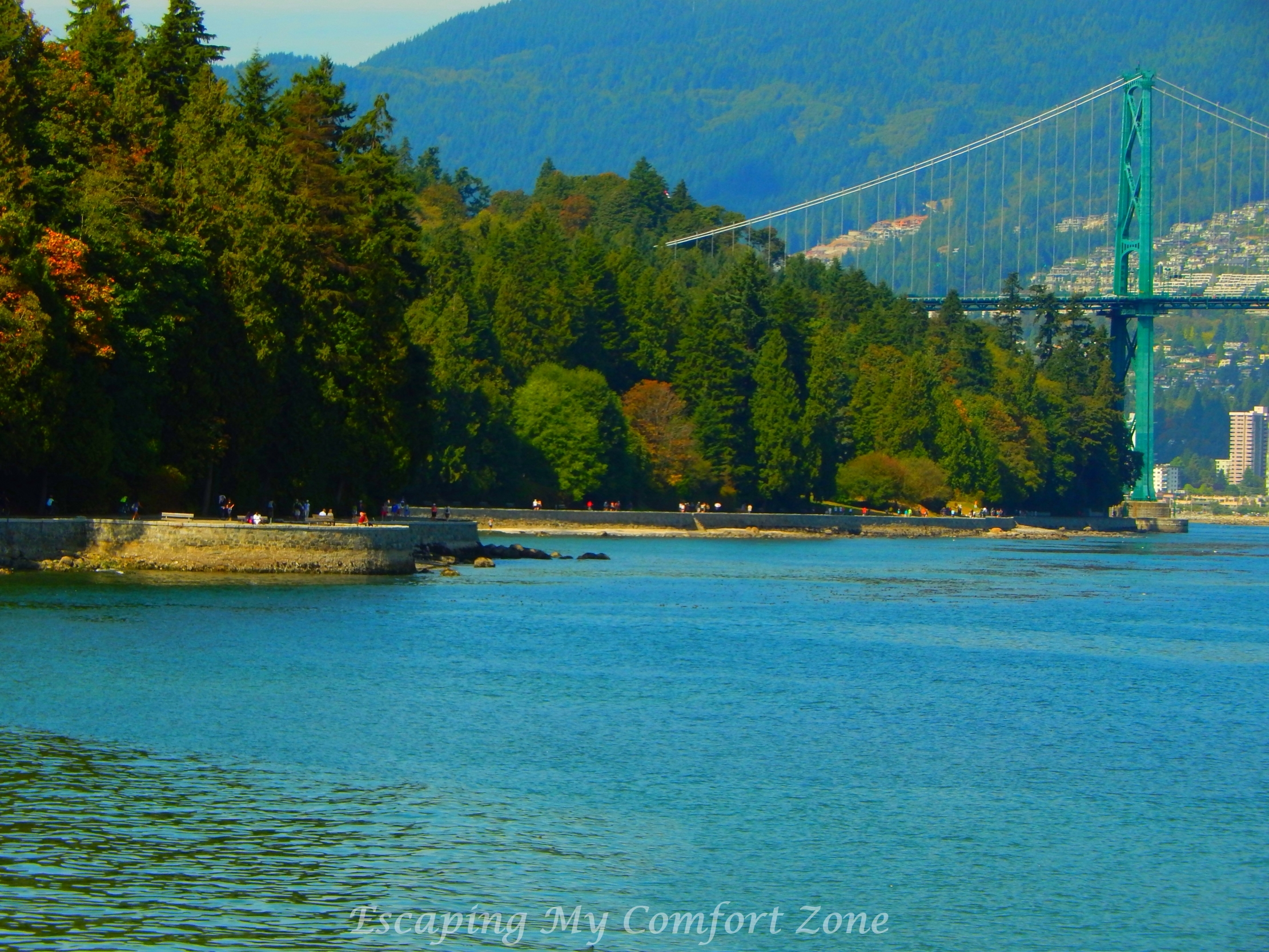 Lions Gate Bridge Stanley Park